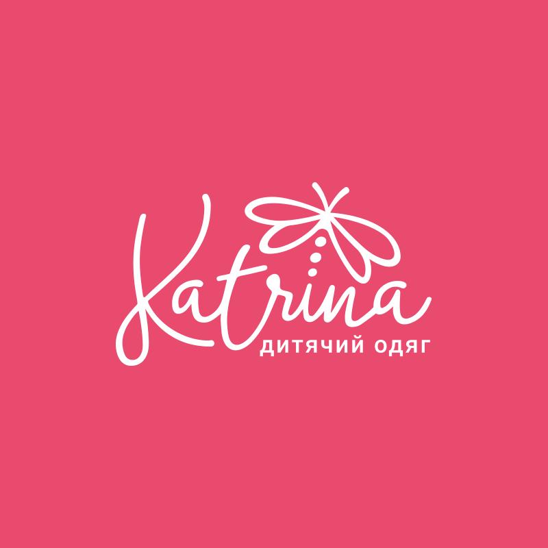 Katrina logo and business card design