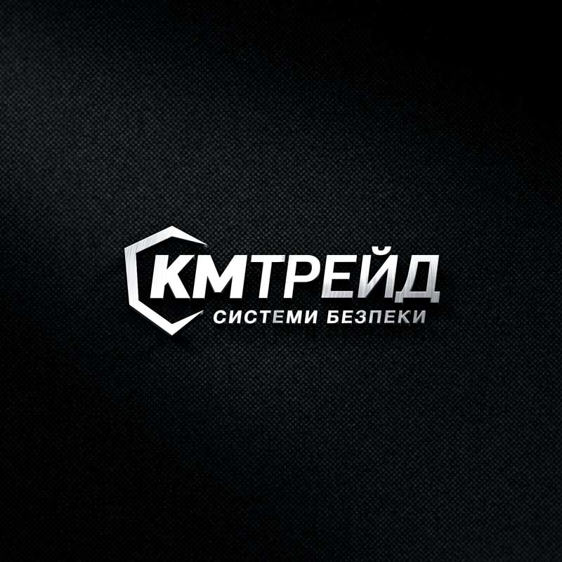 KM Trade logo and web design