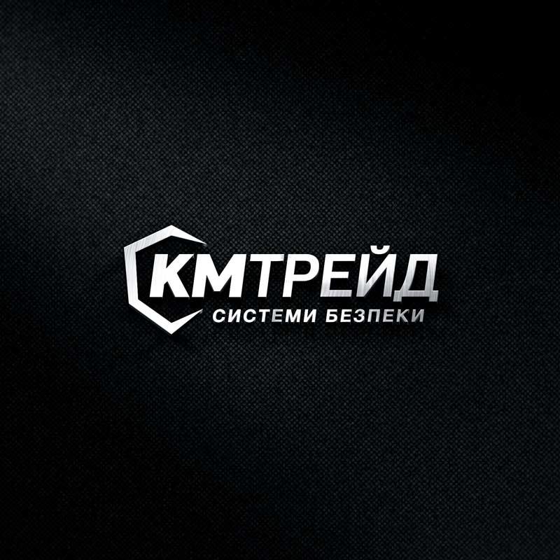 KM Trade logo and web design