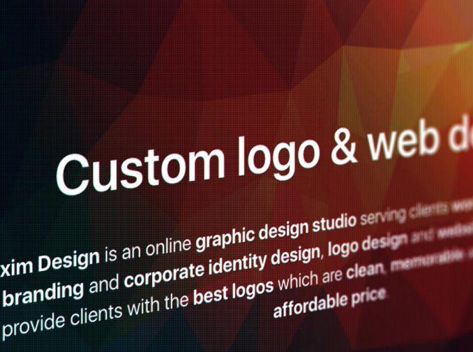 New Exim Design website