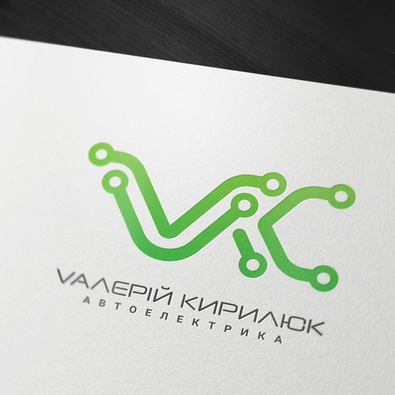 Logo design for VK Electronics