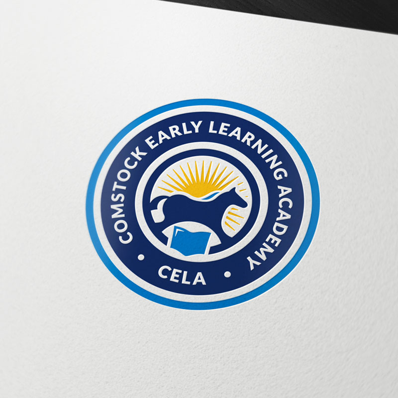 Logo design for Comstock Early Learning Academy