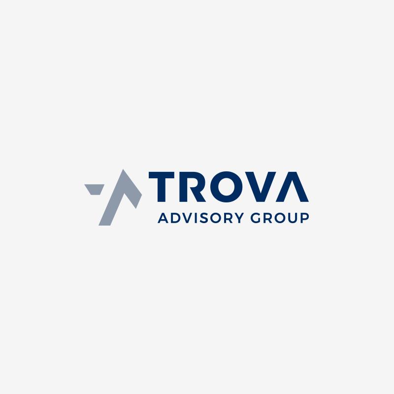 Logo design for Trova Advisory Group