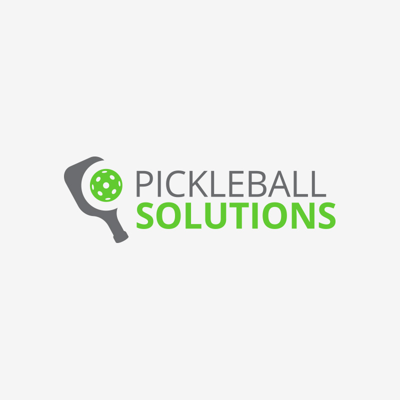 Pickleball Solutions logo design